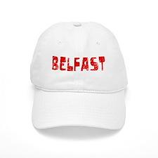 Belfast Faded (Red) Baseball Cap