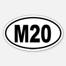 M20 Oval Decal