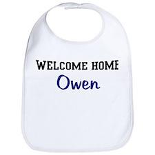 Welcome Home Owen Bib
