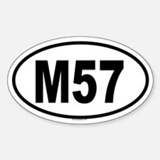 M57 Oval Decal