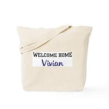Welcome Home Vivian Tote Bag