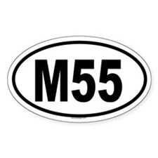 M55 Oval Decal