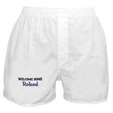 Welcome Home Roland Boxer Shorts