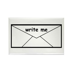 WRITE ME Rectangle Magnet (10 pack)