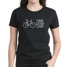 One less car - cycling Tee