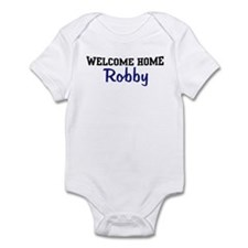 Welcome Home Robby Infant Bodysuit