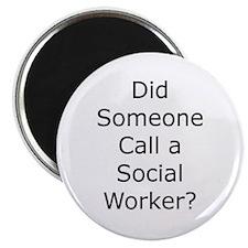 Call a Social Worker Magnet