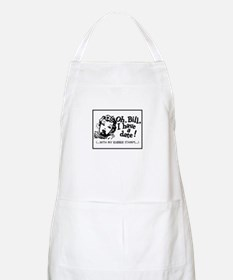A Date With My Rubber Stamps BBQ Apron
