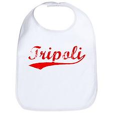 Vintage Tripoli (Red) Bib