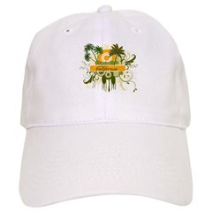Palm Tree California Baseball Cap