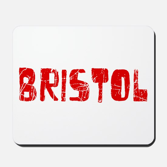 Bristol Faded (Red) Mousepad