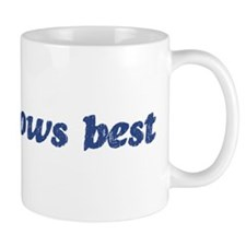 Susie knows best Mug
