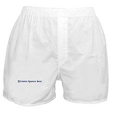 Tristen knows best Boxer Shorts