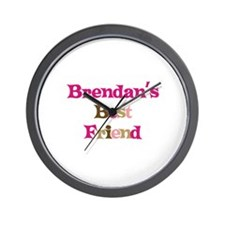 Brendan's Best Friend Wall Clock