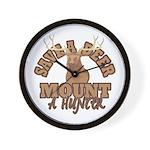Save a Deer Wall Clock