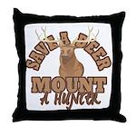 Save a Deer Throw Pillow