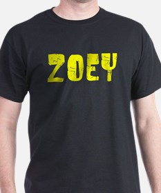 Zoey Faded (Gold) T-Shirt