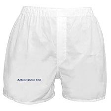 Roland knows best Boxer Shorts