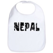 Nepal Faded (Black) Bib