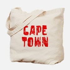 Cape Town Faded (Red) Tote Bag