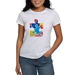 Autism Puzzle Piece 3 Women's T-Shirt