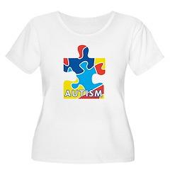Autism Puzzle Piece 3 T-Shirt