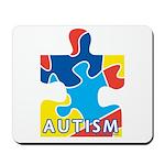 Autism Puzzle Piece 3 Mousepad