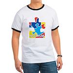 Autism Puzzle Piece 3 Ringer T