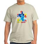 Autism Puzzle Piece 3 Light T-Shirt