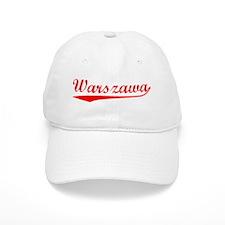 Vintage Warszawa (Red) Baseball Baseball Cap