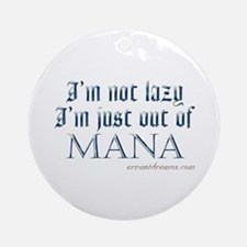 Out of Mana Ornament (Round)