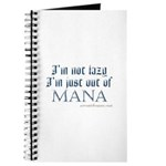 Out of Mana Journal