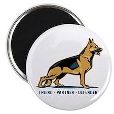 German Shepherd Friend Magnet