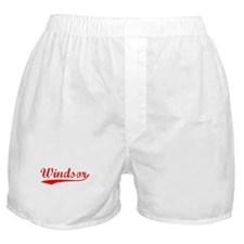 Vintage Windsor (Red) Boxer Shorts