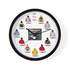 Triple Crown Wall Clock