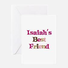Isaiah's Best Friend Greeting Card