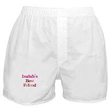 Isaiah's Best Friend Boxer Shorts