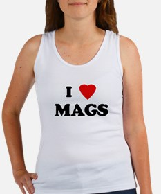 I Love MAGS Women's Tank Top