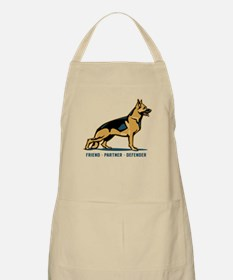 German Shepherd Friend BBQ Apron