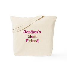 Jordan's Best Friend Tote Bag