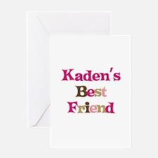 Kaden's Best Friend Greeting Card