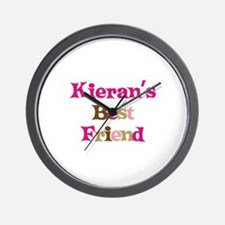 Kieran's Best Friend Wall Clock