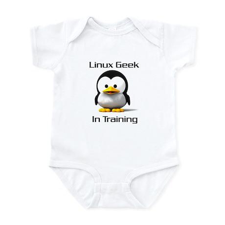 Linux Geek In Training Infant Bodysuit