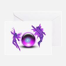 Fairy Orb Greeting Card