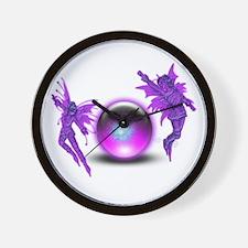 Fairy Orb Wall Clock