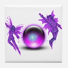Fairy Orb Tile Coaster