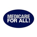 Medicare for all Car Magnets