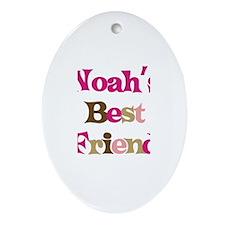 Noah's Best Friend Oval Ornament