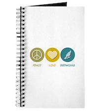 Peace Love Birdwatching Journal