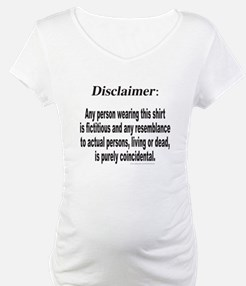 FUNNY DISCLAIMER Shirt